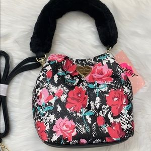 Betsey Johnson Caleb bucket crossbody